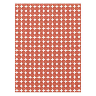 Tomato dots tablecloth