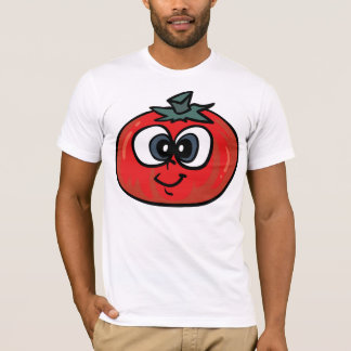 Tomato Face Mens T-Shirt