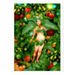 Tomato Fairy Post Card