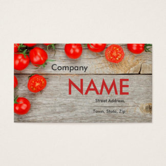 Tomato Fresh Juice Vegetable Vegetarian Card