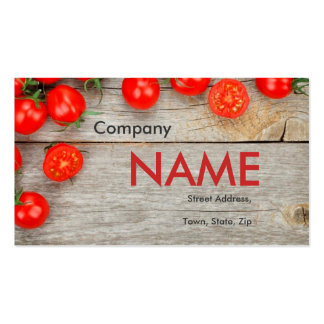 Tomato Fresh Juice Vegetable Vegetarian Card Pack Of Standard Business Cards