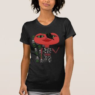 Tomato Girl - George with Skulls T-Shirt
