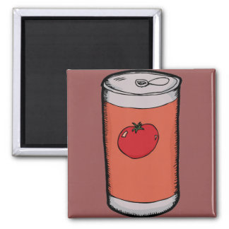 Tomato Juice Can Magnet