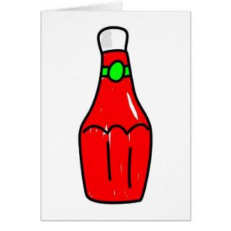 Tomato Ketchup Card
