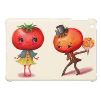 Tomato kitschy Cute Couple Kitchen Cover For The iPad Mini
