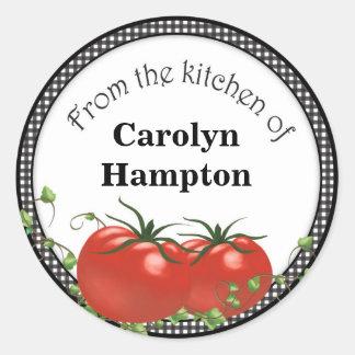 Tomato Labels