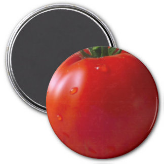 Tomato Large, 3 Inch Round Magnet