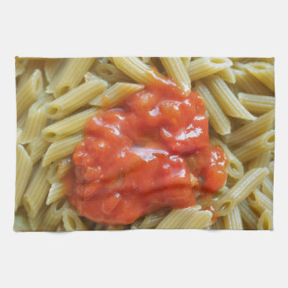 Tomato pasta tea towels