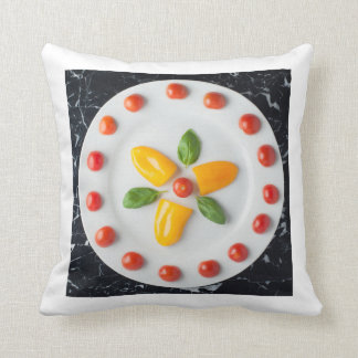 Tomato, Pepper & Basil Cushion