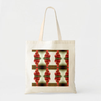 Tomato Pepper Patterned Tote