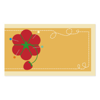 tomato pincushion strawberry sewing fashion access pack of standard business cards