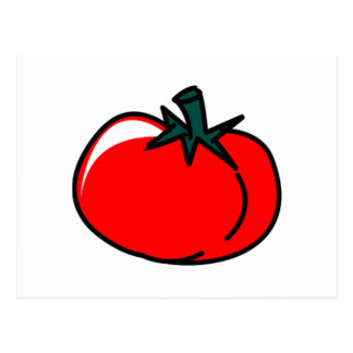 Tomato Postcard