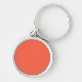 Tomato Red Solid Color Keychains