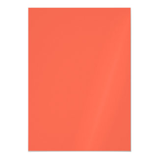 Tomato Red Solid Color Magnetic Invitations