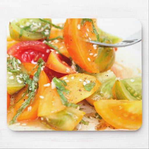 Tomato Salad Mouse Pad