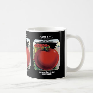 Tomato Seed Packet Label Coffee Mug