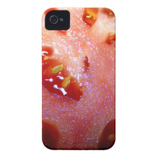 Tomato Slice Extreme Close Up iPhone 4 Cover