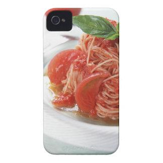 Tomato Spaghetti iPhone 4 Case-Mate Case