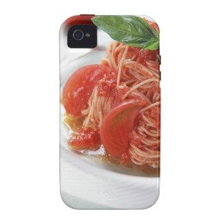 Tomato Spaghetti Case-Mate iPhone 4 Covers