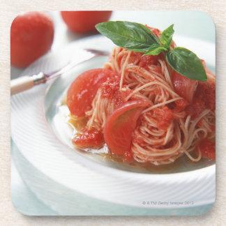 Tomato Spaghetti Drink Coasters