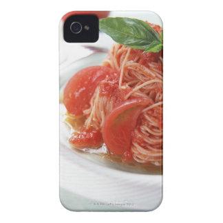 Tomato Spaghetti iPhone 4 Covers