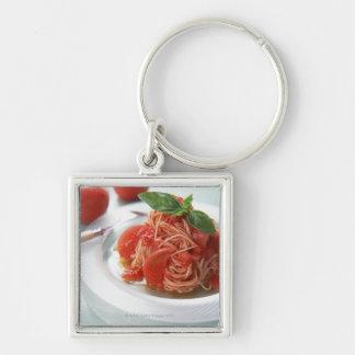 Tomato Spaghetti Key Ring