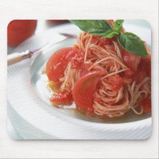 Tomato Spaghetti Mouse Pad