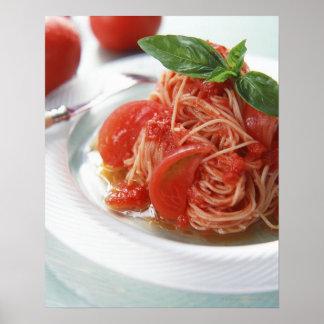 Tomato Spaghetti Poster