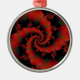 Tomato Spiral Ornament