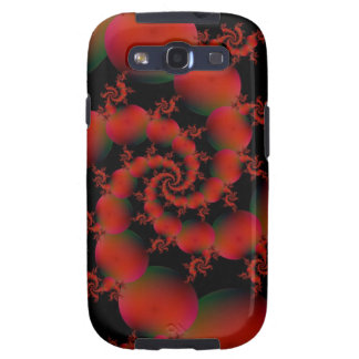 Tomato Spiral Samsung Galaxy S Samsung Galaxy S3 Case