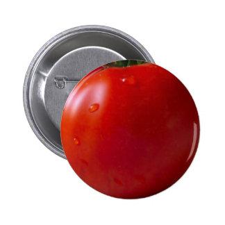 Tomato Standard, 2¼ Inch Round Button