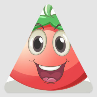 Tomato Triangle Sticker