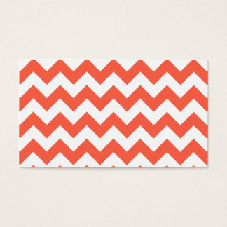 Tomato Zigzag Business Card