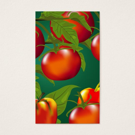 Tomatoes and Bell Peppers Gift Tag
