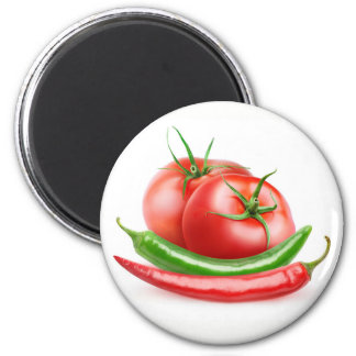 Tomatoes and peppers magnet