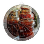 Tomatoes and String Beans in Canning Jars Dart Boards