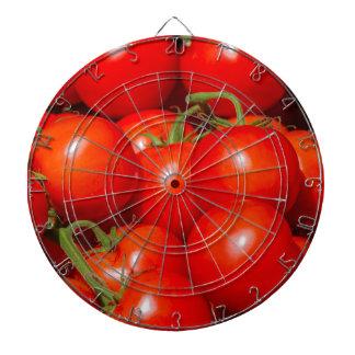 tomatoes at the market dartboard