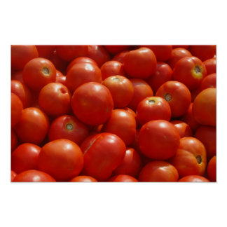 Tomatoes at the Market Poster