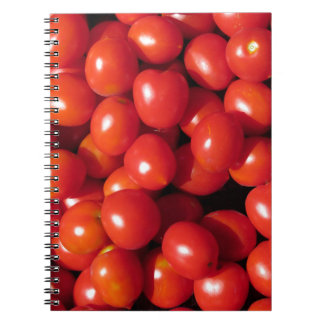 Tomatoes background notebooks