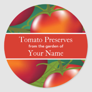 Tomatoes Canning Sticker