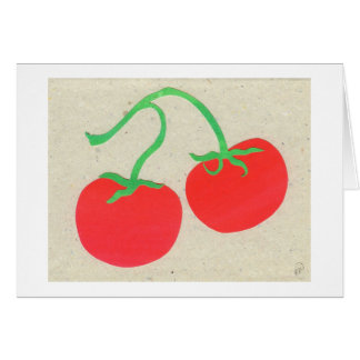 Tomatoes Card
