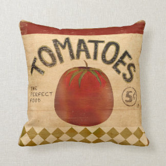 Tomatoes For Sale Cushion