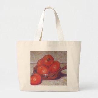 Tomatoes in a Dish Jumbo Tote Bag