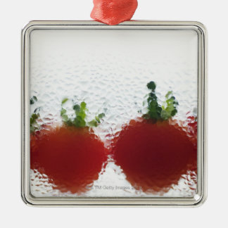 Tomatoes in water christmas ornament