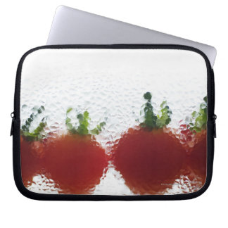 Tomatoes in water laptop sleeve