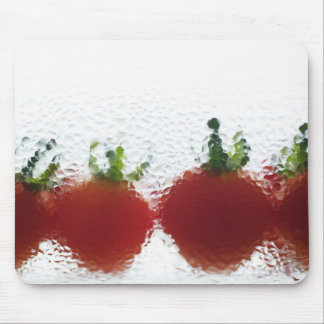 Tomatoes in water mouse mat