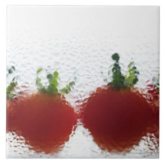 Tomatoes in water tile