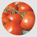 Tomatoes Round Sticker