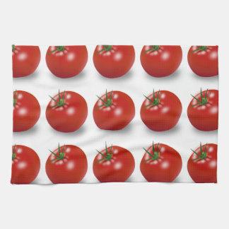Tomatoes Tea Towel. Funky & Fresh! Tea Towel