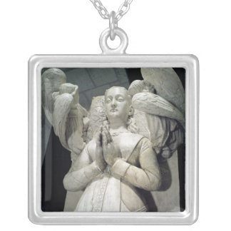 Tomb of Agnes Sorel  1450-59 Silver Plated Necklace